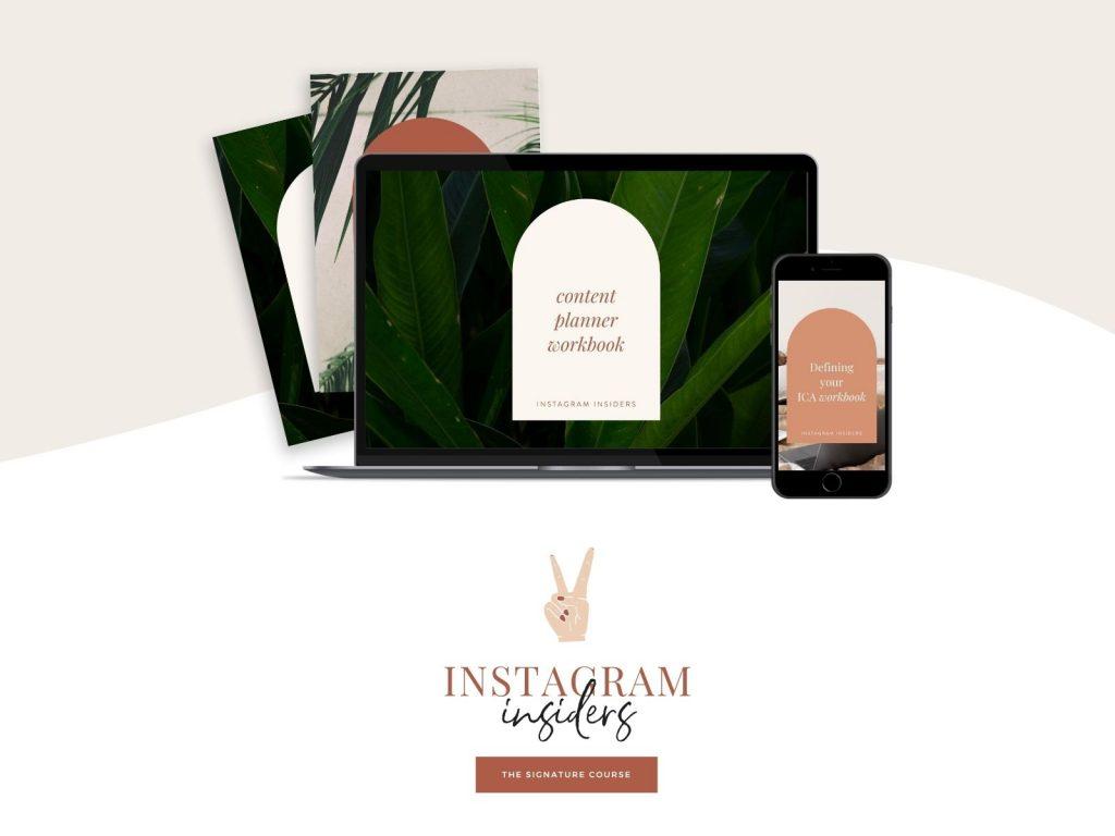 Instagram Insiders online course for Instagram