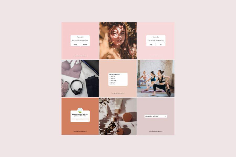 Instagram theme creator - makeover kit chloe laura o'mahony