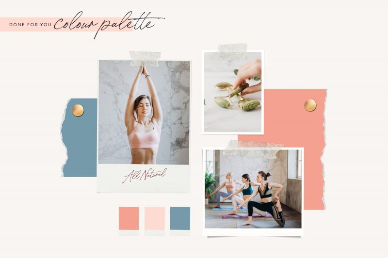 Lucille Instagram theme makeover kit aesthetic creator theme creator template lauraomahonydotcom canva template engagement templates 3