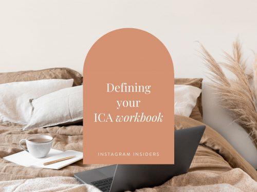 Defining your ICA workbook