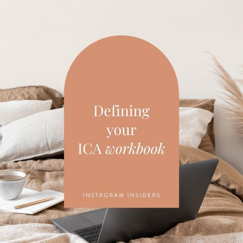 Defining your ICA workbook