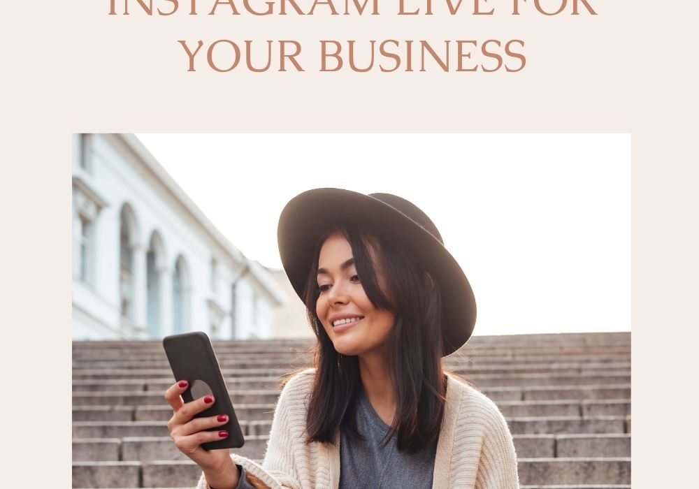 Episode 28 – 12 ways to use Instagram Live for your business