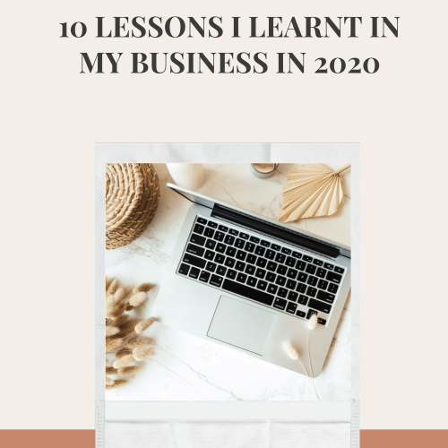 The Marketing Guide Podcast with Laura O' Mahony 10 Lessons I learnt in my business in 2020