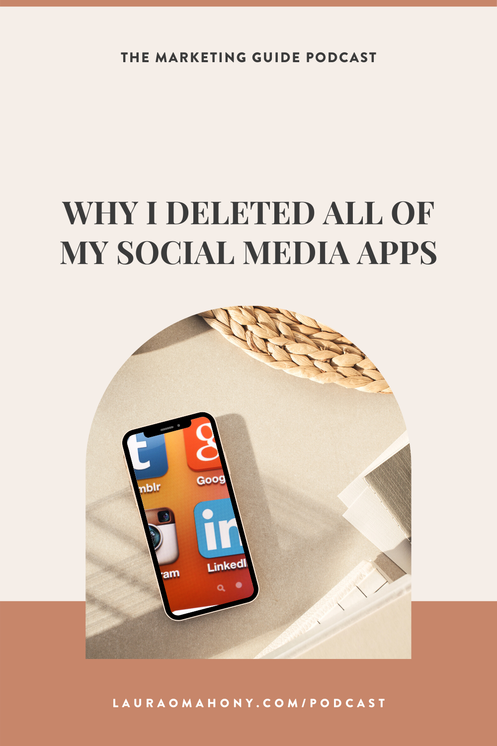 The Marketing Guide Episode 59 Why I Deleted All Of My Social Media Apps