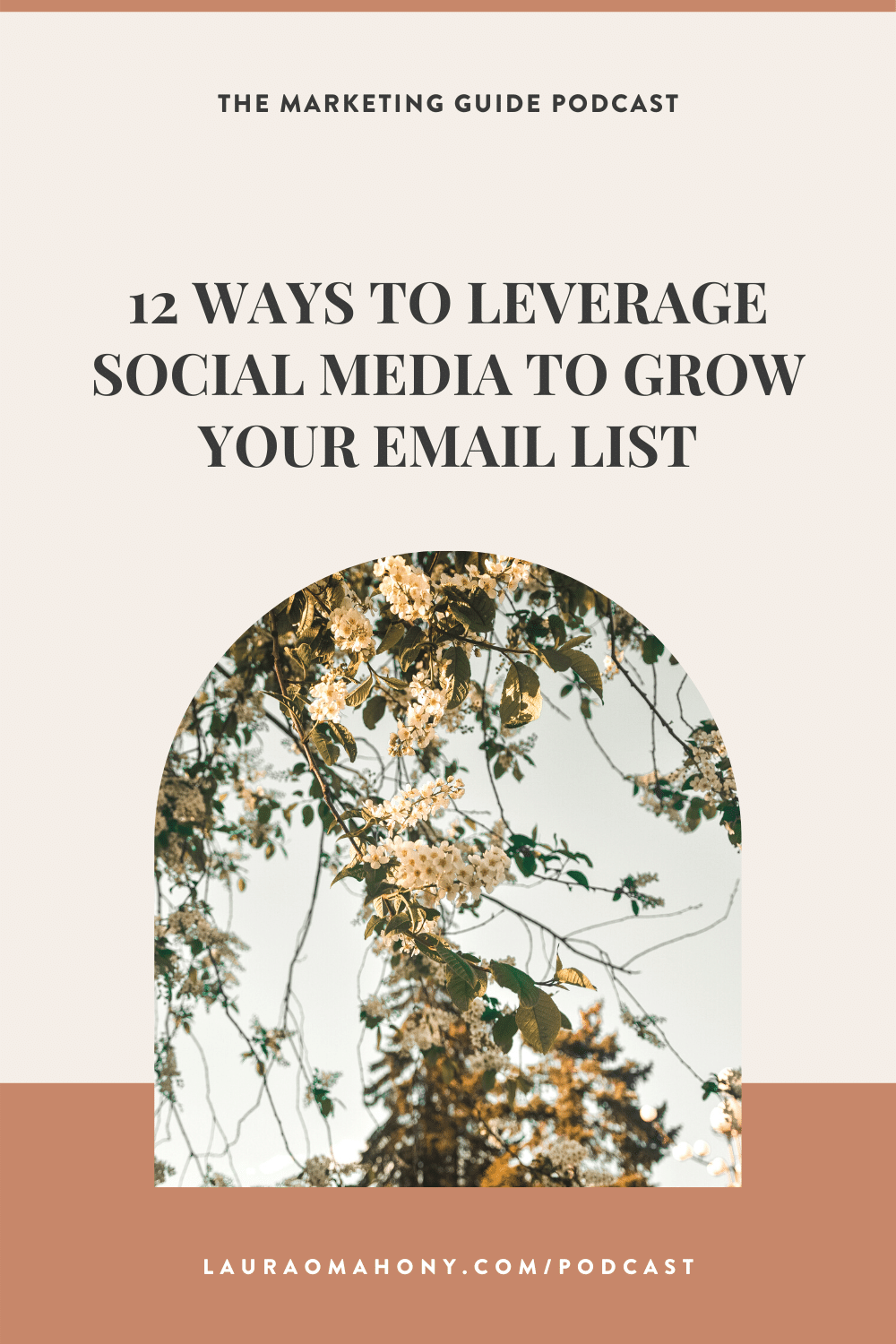 The Marketing Guide Episode 64 - 12 Ways To Leverage Social Media To Grow Your Email List