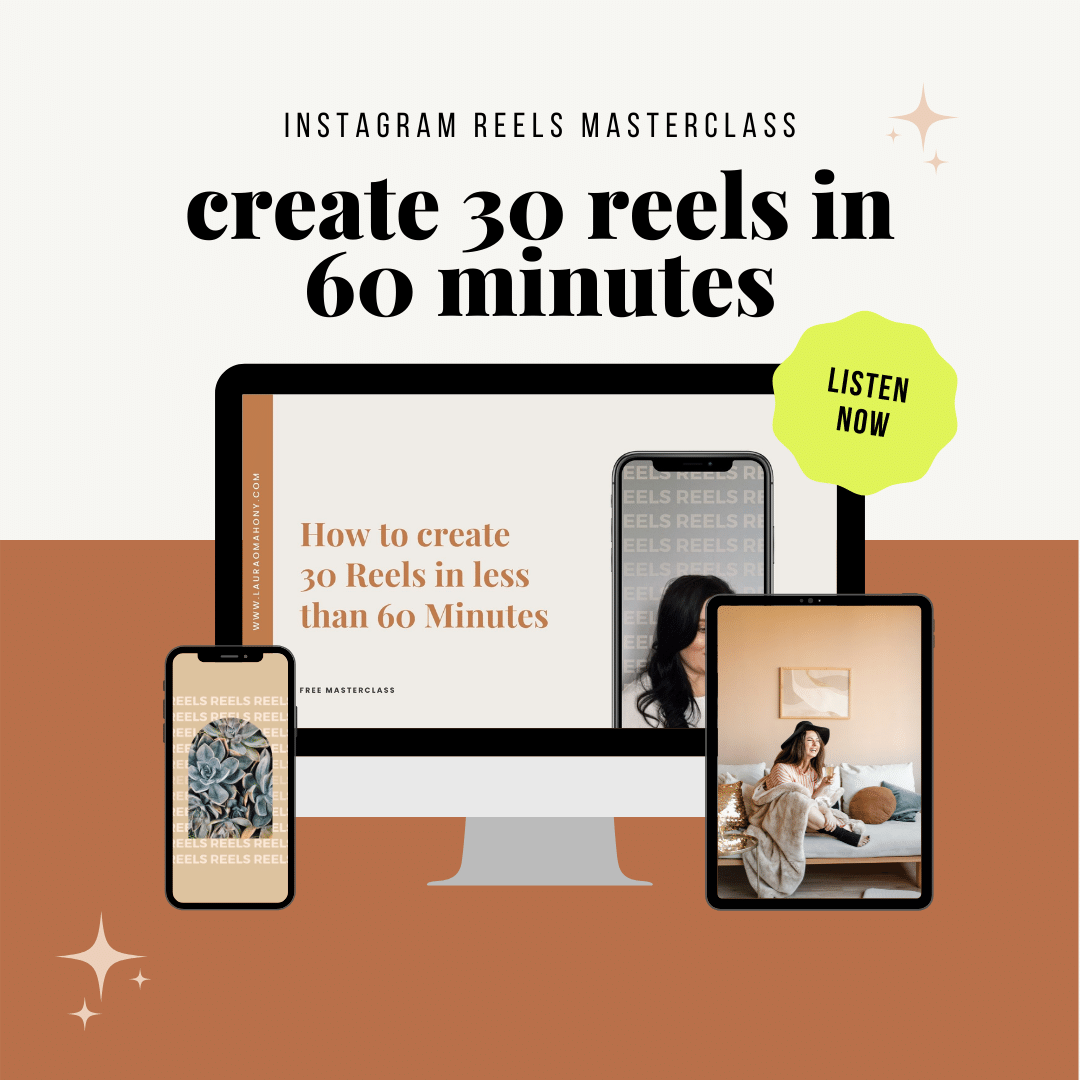 reels masterclass create 30 reels in 60 minutes