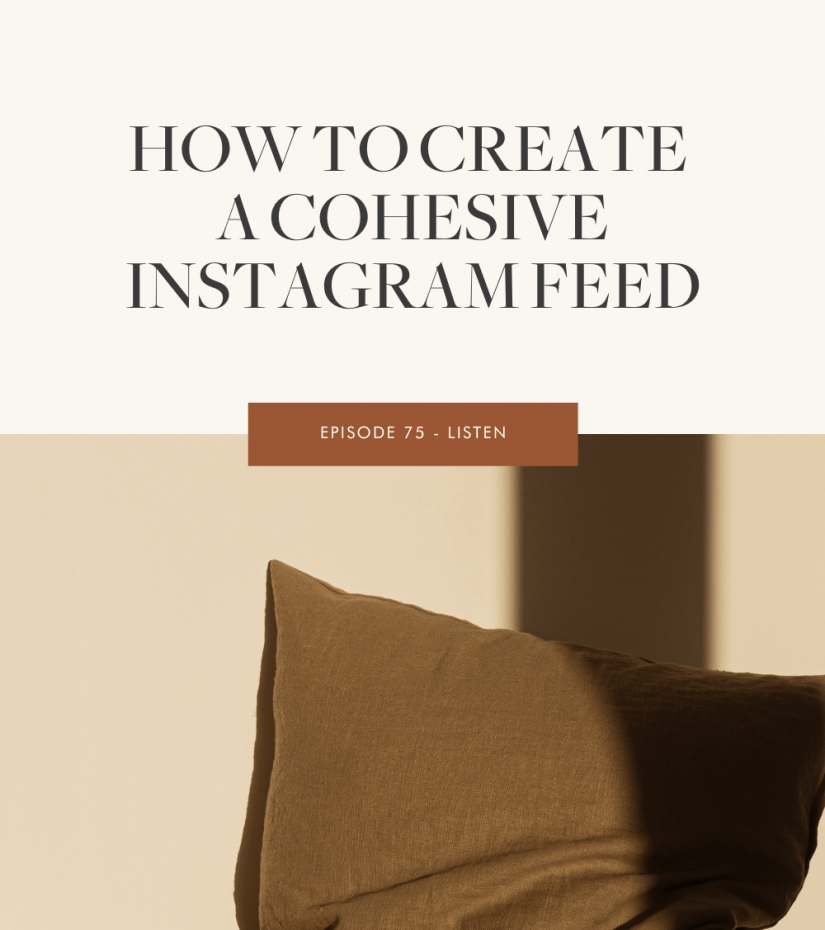 How to Create a Cohesive Instagram Feed The Marketing Guide Episode 75